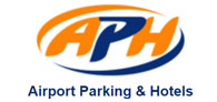 Save up to 42% on airport parking with APH Logo