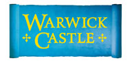 Pay just £9.50 per person on entry to Warwick Cas Logo